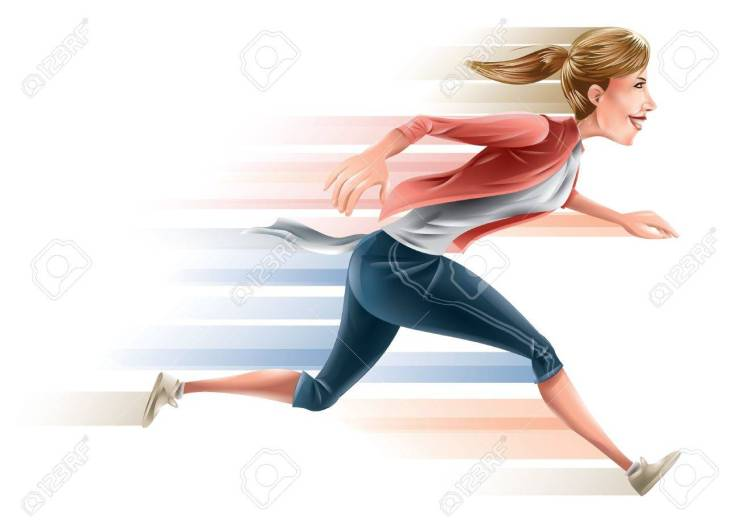 superhero mom running